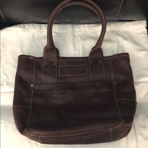 Abercrombie and Fitch Leather Tote